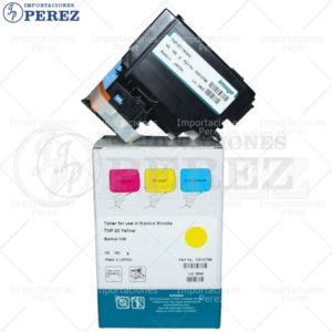 Toner Cartucho Yellow Bizhub C35P