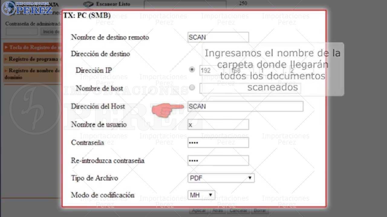[Tutorial] Instalar Escaner Vía Web Bizhub 200/250/350