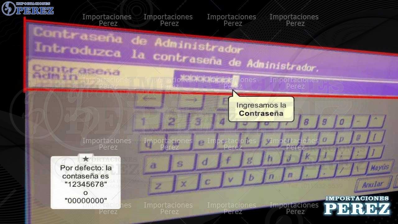 Ver Dirección IP Bh-C250