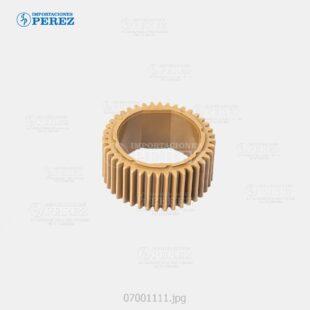 Gear 40T Caramelo (Rodillo Calor) Mp- 4000 5000 4001 5001  - - - 0g - Unid. Fusora - Original - Original - Ricoh - 007001111