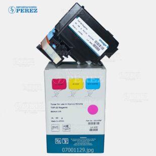 Toner Cartucho 110v Magenta (TNP22M) Bizhub - C35 C35P  - Cartucho - 150g - Tolva - Compatible - Image - 007001129