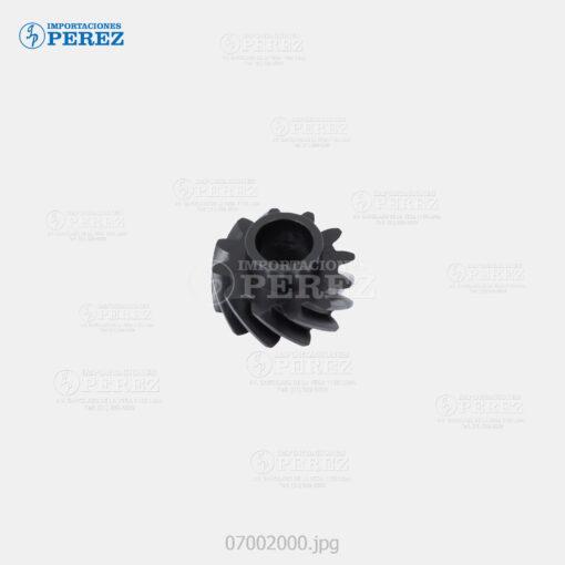 Gear 12T Negro (Reciclado Toner) Af- 1060 1075 2051 2060 2075 - Mp- 5500 6500 7500 6000 7000 8000 6001 7001 8001 9001 6002 7502 9002 6503 7503 9003 - Sp- 9100 - - - 0g - Unid. Imagen - Original - O