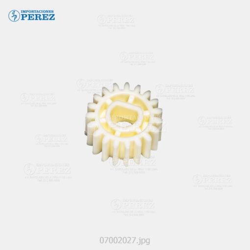 Gear 19T Blanco (Bloque Arrastre Nº 02) Af- 1060 1075 2051 2060 2075 320C C5560 - Mp- 5500 6500 7500 6000 7000 8000 6001 7001 8001 9001 6002 7502 9002 C6000 C7500 C6501 C7501 - Pro- C550Ex C700Ex -