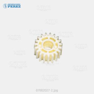 Gear 19T Blanco (Bloque Arrastre Nº 02) Af- 1060 1075 2051 2060 2075 320C C5560 - Mp- 5500 6500 7500 6000 7000 8000 6001 7001 8001 9001 6002 7502 9002 C6000 C7500 C6501 C7501  - Pro- C550Ex C700Ex  - - 007002027
