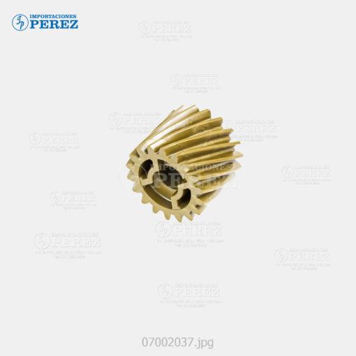 Gear Bizhub420 360 500 361 421 501 - B 18T - Acople Unid. Fusora - Original