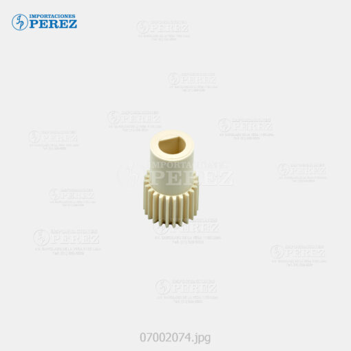 Gear 23T c Cuello Crema (Bloque Manta) Af- 1060 1075 2060 2075 - Mp- 6001 7001 8001 9001 6002 7502 9002 6503 7503 9003 - - - 0g - Unid. Fusora - Original - Original - Ricoh