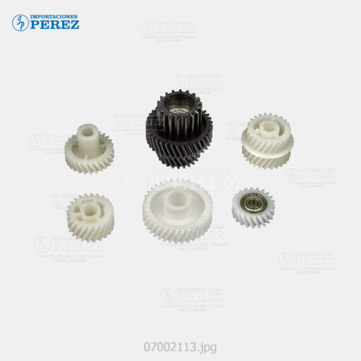 Gear (Kit) Blanco (Revelado) Bizhub 600 750 601 751 - Kit x06 - 0g - Unid. Revelado - Compatible - Dki