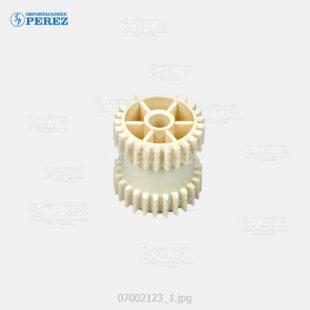 Gear 25T Doble Crema (Fusor) Af- 1035 1045 2035 2045 3035 3045 340 350  - Mp- 3500 4500  - Ap- 4510  - - - 0g - Unid. Fusora - Original - Original - Ricoh - 007002123