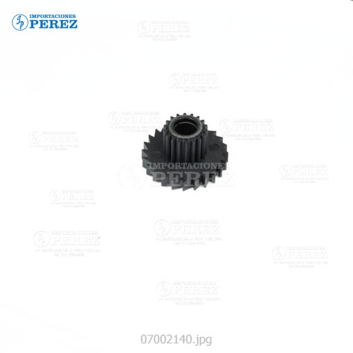 Gear Bizhub600 601 750 751 - 1 18T - Bloque Manta Siliconada - Original
