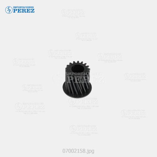 Gear 17T Negro (Unid. Imagen Black Color) Mp- C6000 C7000 C7500 C6501 C7501 - Pro- C550 C700 C550Ex C700Ex - - - 0g - - - Original - Original - Ricoh