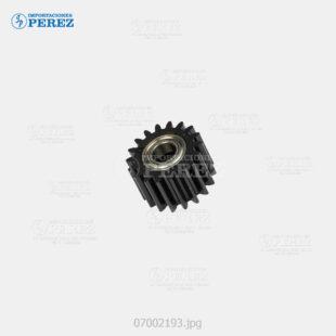 Gear 18T Negro (Bandeja Papel) Af- 2090 2105  - Mp- 9000 1100 1350  - Pro- 906 1106 1356 907 1107 1357 C900 C720 C901  - - - 0g - Bloque Arrastre - Original - Original - Ricoh - 007002193