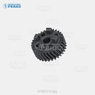 Gear Negro (Fusor - Bloque Piñones) Af- 1060 1075 2060 2075 550 650 551 700  - Mp- 5500 6500 7500 6000 7000 8000 6001 7001 8001 9001 6002 7502 9002 6503 7503 9003  - - - 0g - Unid. Fusora - Compatible - 007002216