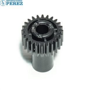 Gear 24T Negro (Bloque Manta) Mp- 4000 5000 4001 5001 4002 5002  - Pro- 8100 8110 8120 C5100 C5110 C651 C751 C901  - - - 0g - Unid. Fusora - Original - Original - Ricoh - 007002232