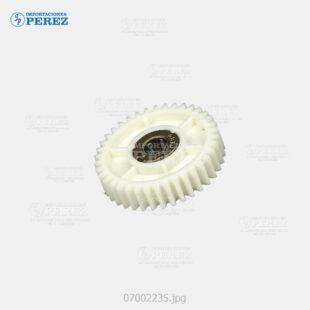 Gear 38T Crema (Bandeja Papel) Af- 1060 1075 2051 2060 2075 3260C C5560  - Ap- 900  - Mp- 5500 6500 7500 6000 7000 8000 6001 7001 8001 9001 C6000 C7500 C6501 C7501  - Pro- C550Ex C700Ex  - - - 0g - Bl - 007002235