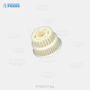 Gear 24 40T Crema (Faja Transporte Vertical Papel) Af- 1060 1075 2051 2060 2075  - Mp- 6001 7001 8001 9001 C6000 C7500 C6501 C7501  - Pro- C550Ex C700Ex  - - - 0g - Transporte Vertical  - Original - O - 007002237