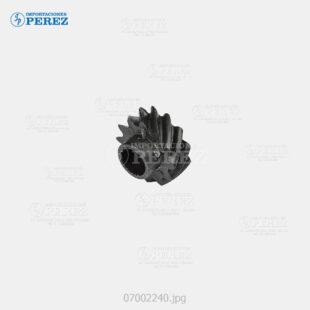 Gear 12T Negro (Reciclado Toner) Af- 1060 1075 2051 2060 2075  - Mp- 5500 6500 7500 6000 7000 8000 6001 7001 8001 9001 6002 7502 9002 6503 7503 9003  - Sp- 9100  - - - 0g - Unid. Imagen - Compatible - - 007002240