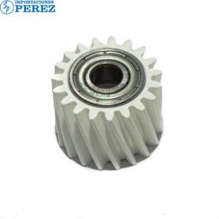 Gear 19T - Corto Crema (Rodillo Presión) Mp- C2003 C2503 C3003 C3503 C4503 C5503 C6003 C2004 C2504 C3004 C3504 C4504 C6004  - Calidad Original - 0g - Unid. Fusora - Original - Dki - 007002247