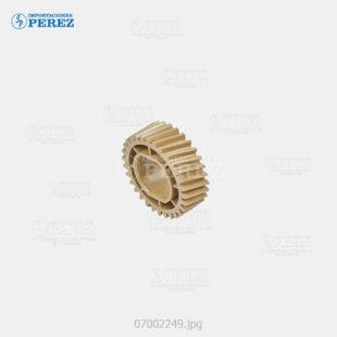 Gear Caramelo (Rodillo Presión) Mp- C2003 C2503 C3003 C3503 C4503 C5503 C6003 C2004 C2504 C3004 C3504 C4504 C6004  - - - 0g - Unid. Fusora - Compatible - Dki - 007002249