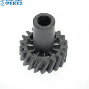 Gear 20T c cuello Negro (Fusor) Mp- C6000 C7500 C6501 C7501  - Pro- C550 C700 C550Ex C700Ex  - - - 0g - Unid. Fusora - Original - Original - Ricoh - 007002263