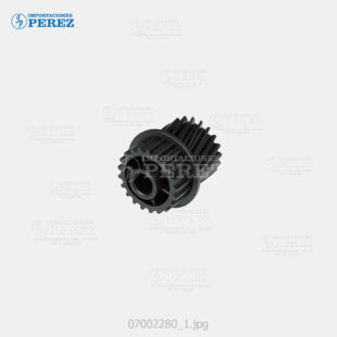 Gear 20 21T Rear  Negro (Faja Arrastre ADF) Mp- 5500 6500 7500 6001 7001 8001 9001 6002 7502 9002 C6501 C7501  - Pro- C651 C751 C651Ex C751Ex  - - - 0g - ADF - Original - Original - Ricoh - 007002280