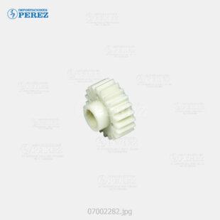 Gear 21T Crema (Bandeja Papel) Af- 1060 1075 2051 2060 2075 3260C C5560  - Ap- 900  - Mp- 5500 6500 7500 6000 7000 8000 6001 7001 8001 9001 6002 7502 9002 C6000 C7500 C6501 C7501  - Pro- C550Ex C700Ex - 007002282