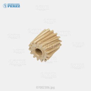 Gear 15T Caramelo (Fusor) Mp- C2051 C2551  - - - 0g - Unid. Fusora - Original - Original - Ricoh - 007002306