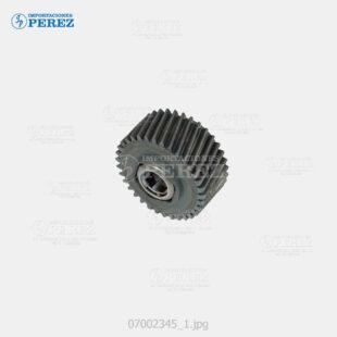 Gear 34T c cuello Negro (Fusor) Pro- C550 C700 C6000 C7500 C550Ex C700Ex  - - - 0g - Unid. Fusora - Original - Original - Ricoh - 007002345