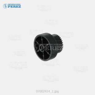 Gear - (Fusor) Mp- C4000 C5000 C3001 C3501 C4501 C5501 C4502 C5502  - Sp- C820 C821  - - - 0g - Bloque Piñones - Original - Original - Ricoh - 007002414