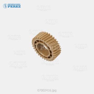 Gear Caramelo (Rodillo Presión) Mp- C4000 C5000 C4501 C5501  - - - 0g - Unid. Fusora - Original - Original - Ricoh - 007002416