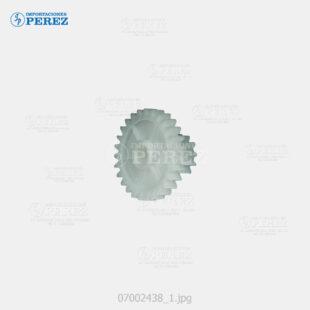 Gear 12 27T Blanco (Tolva Toner) Af- 850 1050 1085 1105 2090 2105  - Mp- 9000 1100 1350  Pro- 906 1106 1356 907 1107 1357 8100 8110 8120 8200 8210 8220  - - - 0g - Banco Toner - Compatible - Dki - 007002438