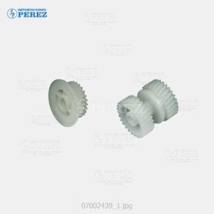 Gear (Kit) Crema (Bloque Manta) Af- 2035 2045 3035 3045  - Mp- 3500 4500  - Sp- 8100 8100DN  - Kit x02 - 0g - Unid. fusora - Compatible - Dki - 007002439