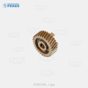 Gear Crema (Fusor) Af- 1060 1075 2051 2060 2075  - Mp- 5500 6500 6000 7000 6001 7001 8001 9001 6002 7502 9002  - - - 0g - Unid. Fusora - Original - Original - Ricoh - 007002446