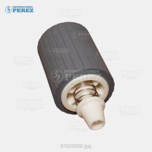 Rueda Af-1022 1027 2022 2027 3025 3030 - Casetera - Feed Roller - Af-220 270   Mp-2500 2510 3010 3350 3351 - Original - 007020000