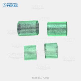 Rueda (Kit) Verde (ADF - Pickup Separation Feed Roller) Bizhub - 200 250 350 360 420 500 361 421 501 222 282 362  - Di- 2010 2510 3010 3510  - Kit x04 - 0g - ADF - Compatible - Dki - 007020077