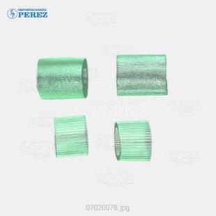 Rueda (Kit) Jebe Verde (ADF - Pickup Separation Feed Roller) Bizhub - 200 250 350 222 282 362  - Kit x04 - 0g - ADF - Compatible - Dki - 007020078