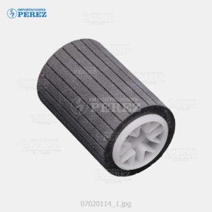 Rueda Plomo (Bandeja - Feed Roller) Mp- 2501 2001 2501 2501SP  C2030 C2050 C2550 C2051 C2551 - Af- 1224C 1232C 3224C 3232C  - - - 0g - Bloque Arrastre - Original - Original - Ricoh - 007020114