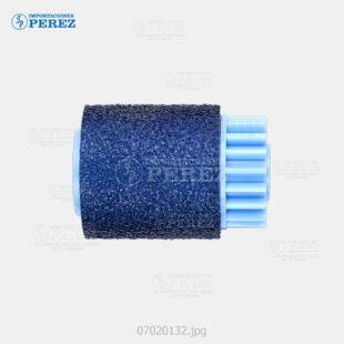 Rueda Azul (Bandeja - Feed Roller) Pro- 8100 8100Ex 8110 8110S 8120 8120S  - - - 0g - Bloque Arrastre - Original - Original - Ricoh - 007020132