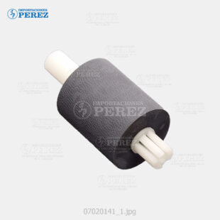 Rueda Negro (ADF - Pickup Roller) Af- 1013 120 1515  - Mp- 161 171 201 C300 C400  - Sp- 5200 5200S 52210 5210SF 5210SR C401 C401SR  - - - 0g - ADF - Original - Original - Ricoh - 007020141