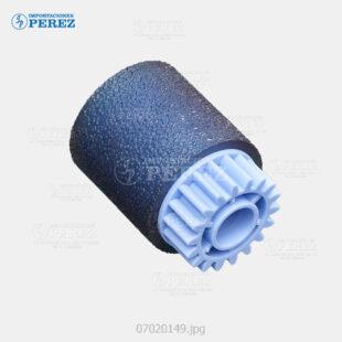 Rueda Azul (Bandeja - Feed Roller) Pro- 8100 8100Ex 8110 8110S 8120 8120S  - - - 0g - Bloque Arrastre - Compatible - Cet - 007020149