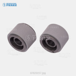 Rueda (Kit) Plomo (Bandeja - Pickup Roller) Bizhub 4020 4000 4050 4700 4750 - Kit x02 - 0g - Bloque Arrastre - Compatible - Katun Perfomance - 007020157
