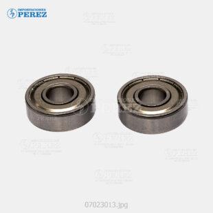 Rodaje (Kit) Plata (Rodillo Presión) Mp- 4000 5000 4001 5001 4002 5002  - Kit x02 - 0g - Unid. Fusora - Compatible - Cet - 007023013