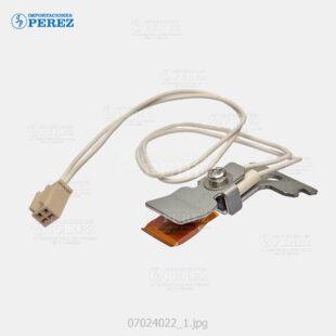 Thermistor Caramelo (Rodillo Calor) Af- 1050 1085 1105 2090 2105 550 650 850  - Mp- 9000 1100 1350 9000  - Pro- 906 1106 1356 907 1107 1357  - - - 0g - Unid. Fusora - Original - Original - Ricoh - 007024022