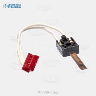 Thermistor Corto Posterior Caramelo (Fusor) Mp- 3500 4500  - Sp- 8100  - - - 0g - Unid. Fusora - Original - Original - Ricoh - 007024023