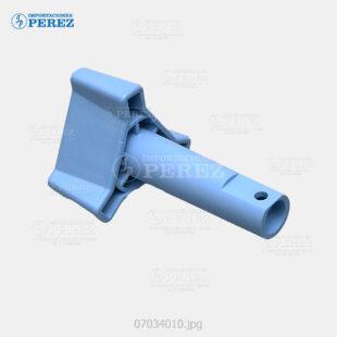 Manija (Knob) Azul (Fusor) Af- 1035 1045 2035 2045 3035 3045  - Mp- 3500 4500  - - - 0g - Unid. Fusora - Original - Original - Ricoh - 007034010