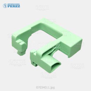 Manija (Handle) Verde (Toner) Mp- 2500 2500SP 2500SPF  - - - 0g - Tolva Toner - Original - Original - Ricoh - 007034011
