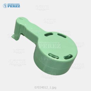 Manija (Handle) Verde (Toner) Mp- 4000 5000 4001 5001 4002 5002  - - - 0g - Tolva Toner - Compatible - Dki - 007034012