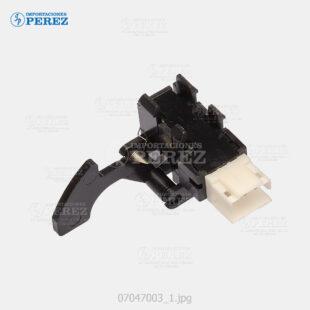 Sensor (Photointeruptor) Negro (Transporte Vertical) Af- 2022 2027 3025 3030  - Mp- 2500 2510 3010 2550 3350 2851 3351  - - - 0g - Eléctrica - Original - Original - Ricoh - 007047003