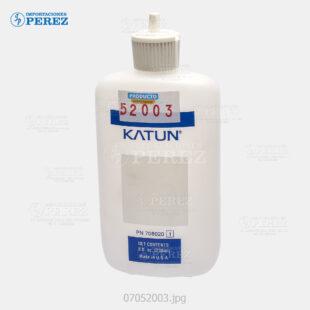 Botella Plastica c apriete Blanco (236ml) Para uso Técnico   Ricoh Canon Sharp Toshiba - Botella - 0g - Técnico - Compatible - Katun Perfomance - 007052003