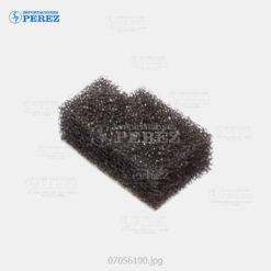 Sello Front Negro (Cuchilla Limpieza) Mp- C6000 C7500 C6501 C7501 - Pro- C550 C700 C550Ex C700Ex - - - 0g - Unid. Imagen - Original - Original - Ricoh - 007056100