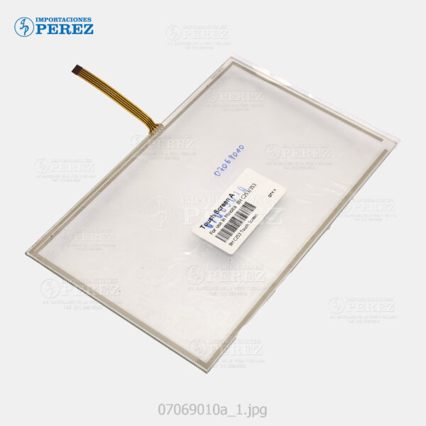 Touch Bizhub -C353 C253 C203 C451 C550 C650 C220 C280 C360 - Universal (02 versiones Flex A=Arriba y B=Costado) - 007069010